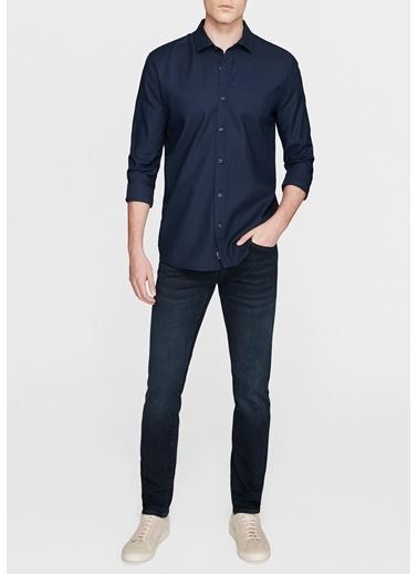 Mavi Cepsiz Gömlek Lacivert